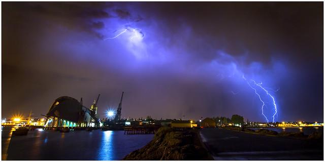 Maritime Museum lightning