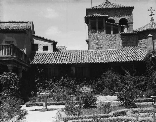 Museo del Greco en Julio de 1932. Fotografía de Willy Pragher © Landesarchiv Baden-Württemberg, Abt. Staatsarchiv Freiburg, W 134 Nr. 004693