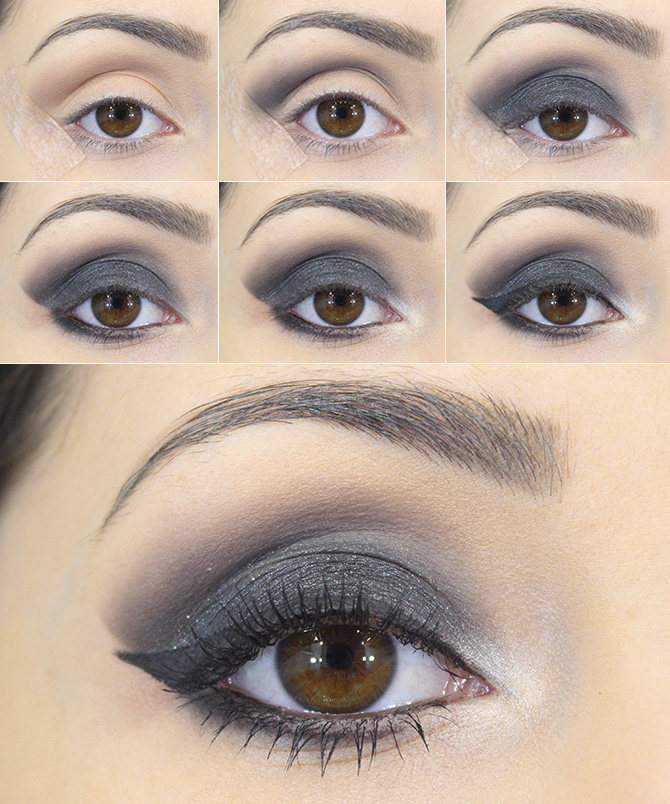 tutorial smokey eye petite jolie