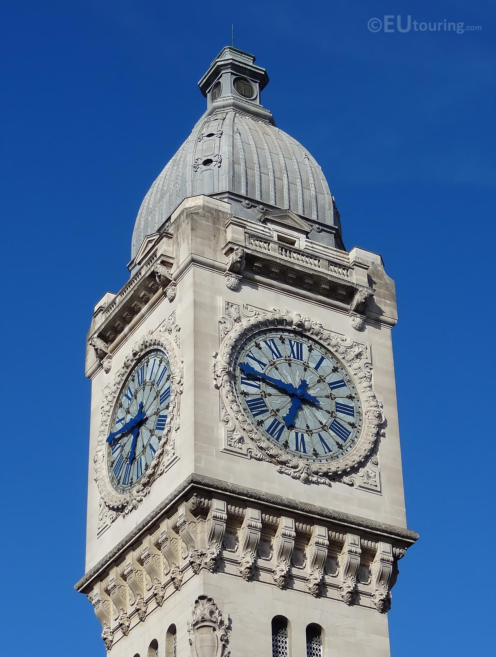 Gare de Lyon clock tower