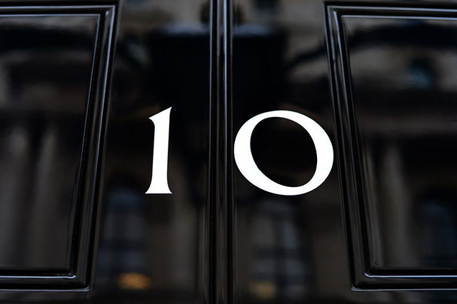Number 10 Downing Street Courtesy Crown Copyright/WikiCommons, 2013