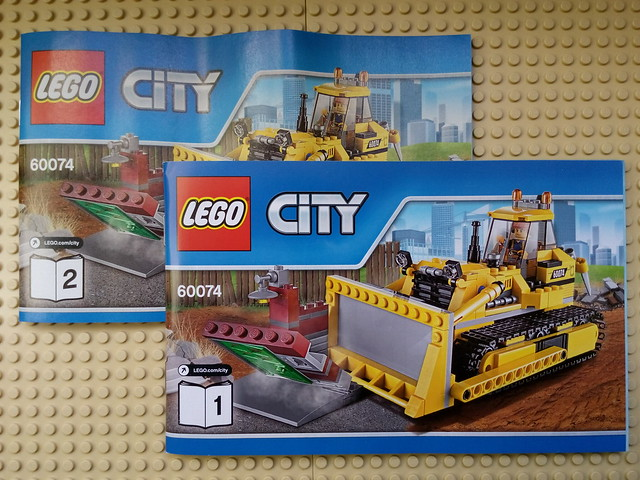 LEGO 60074 City Demolition - Manuali