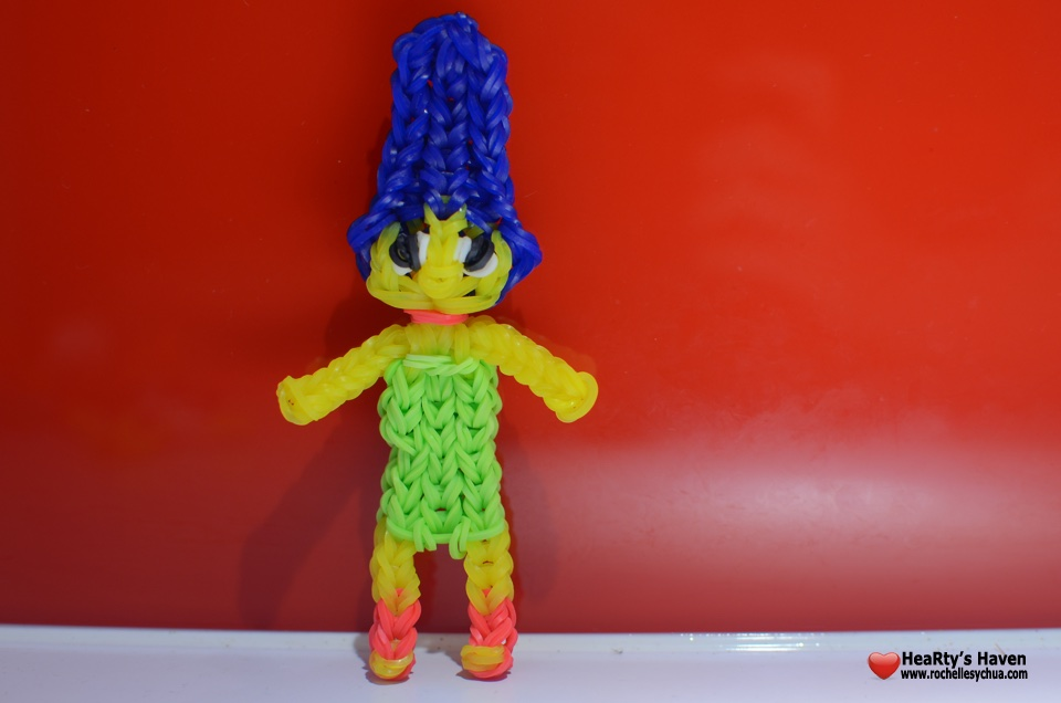 Marge Simpson Loom Charm