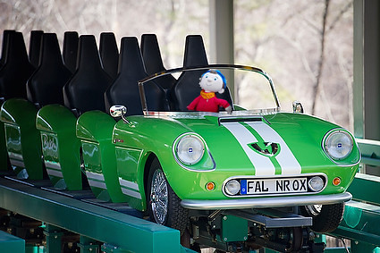 roller coaster car for noddy