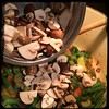 Minestrone - mushrooms