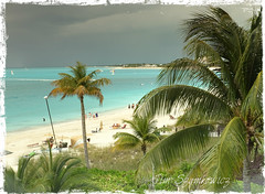 View from our balcony in Turks & Caicos