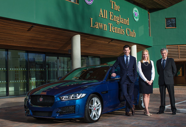 Jaguar launches partnership with The Championships, Wimbledon