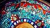 Closeup of Cuban Style mosaic platter