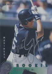 1997 Donruss - Jose Cruz Jr. #396 (Outfielder) - Autographed Baseball Card (Seattle Mariners)
