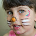 My Daughter Jomana - Cat face painting!! by The Black Pearl12