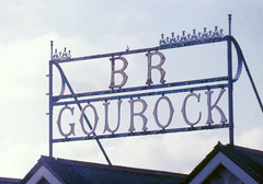 BR GOUROCK SIGN