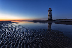 Talacre Blue Hour