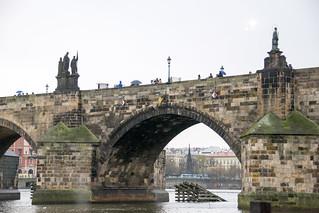 Изображение Карлов мост вблизи Malá Strana. prague praha charlesbridge karlůvmost vltava