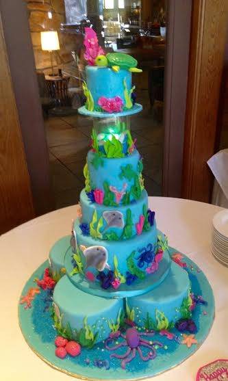 Under the Sea Once Upon A Cake by Maria Velasco