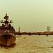 The River Neva and Admiral Essen Frigate