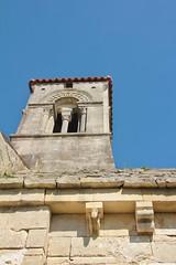 modillons église Saint Ouen la Thène