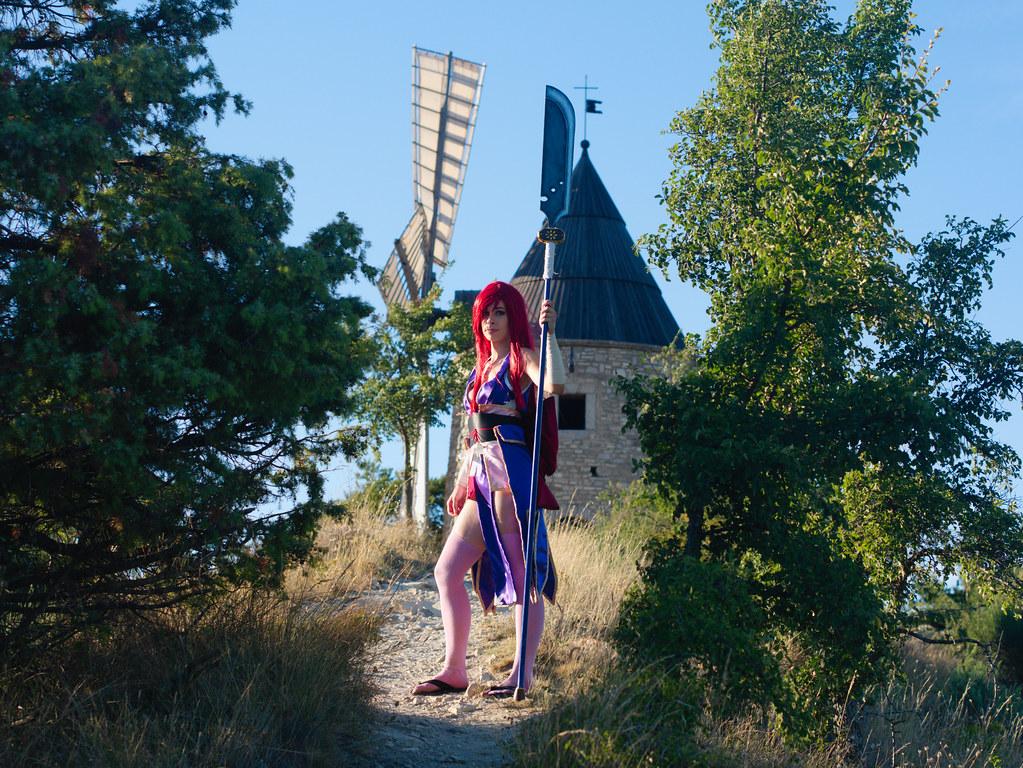 related image - Shooting Erza Scarlet - Robe de Yuen - Alpes de Haute Provence - 2016-08-14- P1520188