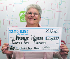 Natalie Rogers - $25,000 Double Deal Bingo