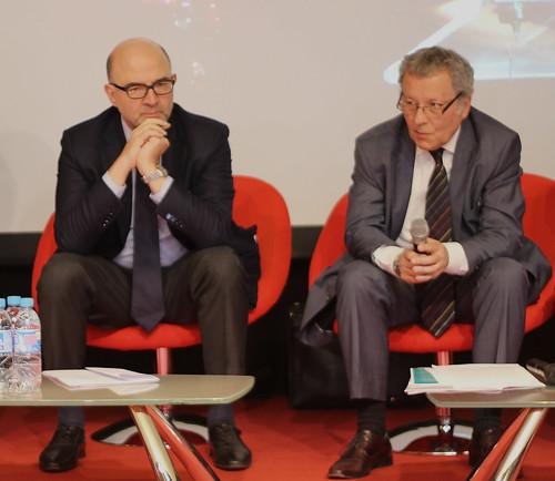 Pierre Moscovici et Pierre Dutilleul (FEP)