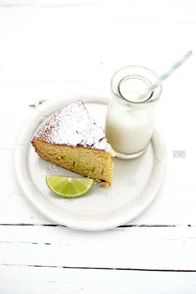 cake lime crème fraiche fetta