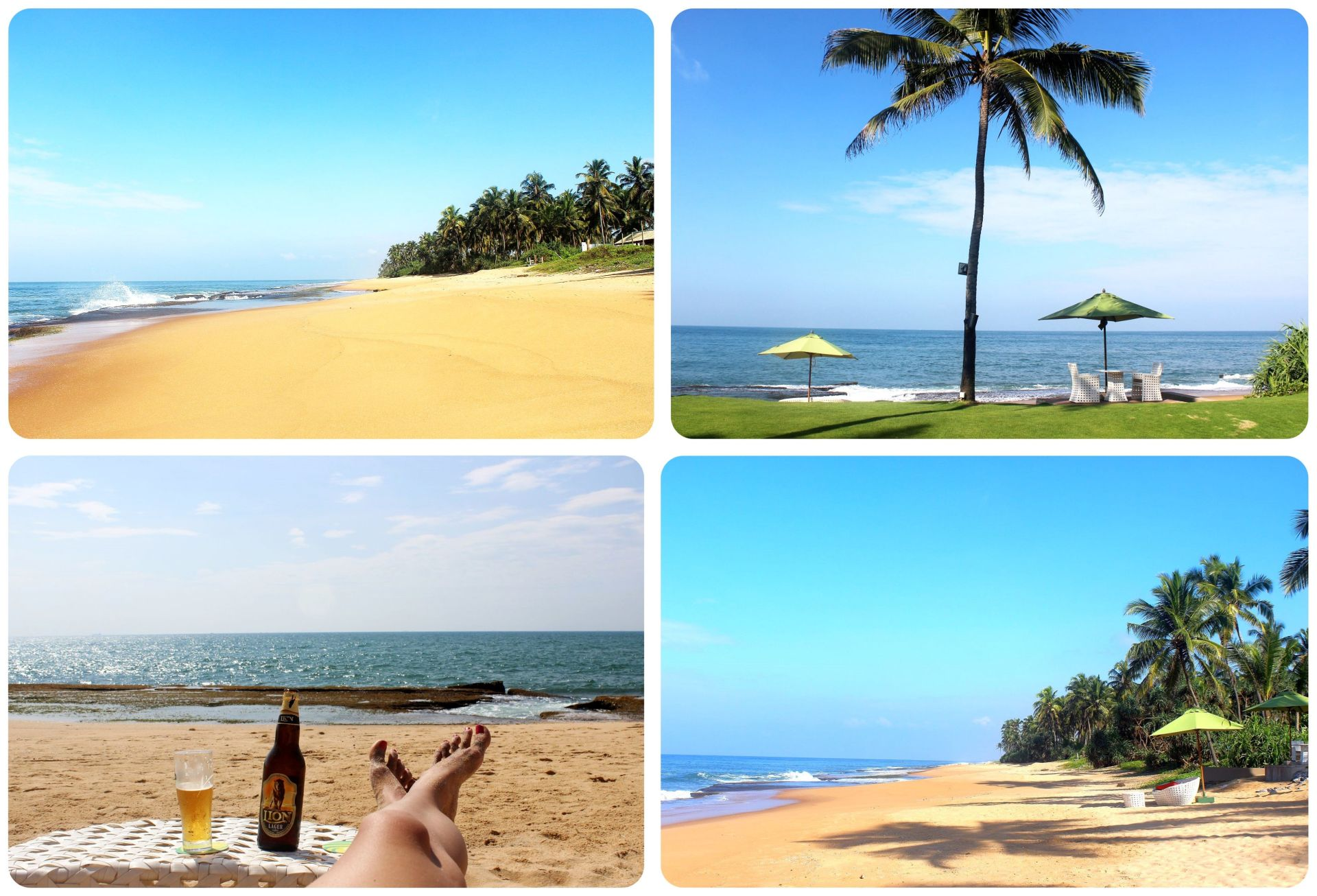 Reefs Edge Hotel Sri Lanka beach