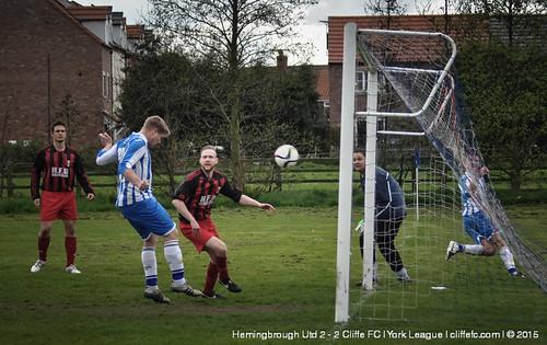 Cliffe FC 2 - 2 Hemingbrough Utd 25Apr15