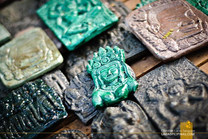 Souvenirs in Rolous, Siem Reap