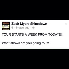 What shows are you going to?! #NightLikeThisTour #ZachMyers #MackMyersMoore