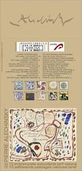 13 ALECHINSKY carnet cover