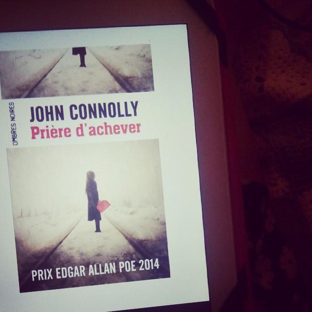 Malade, je vais lire un livre de john connolly je pense même si j'hesite à rejoindre les copines chez @bullelodie
