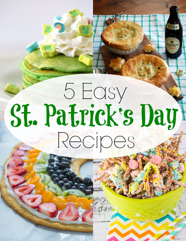 5 easy saint patricks day recipes