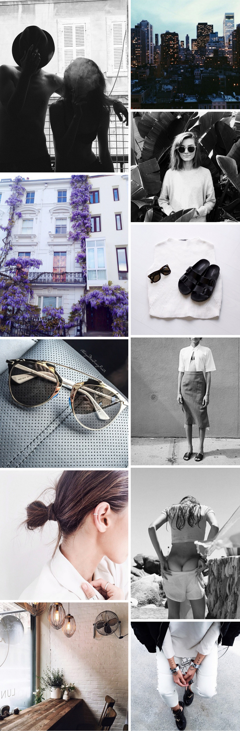 April Fashion Collage | Stolen Inspiration | Kendra Alexandra | Fashion Blogger