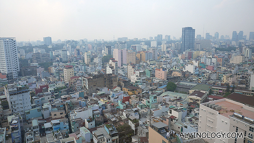 Not exactly full of shiny skyscrapers, but Ho Chi Minh City is an up-and-coming city and I believe the cityscape will definitely change over the next few years