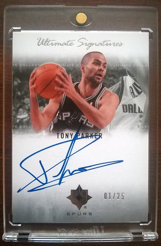 2007-08 Ultimate Collection Signatures #PA Tony Parker /25 | by milkowski.pawel