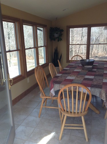 sunroom/part of the dining area