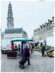 Through the Arras market