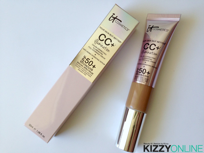 4fce97d7e6d11 Review  the CC+ Cream Illumination with SPF 50 by it Cosmetics ...