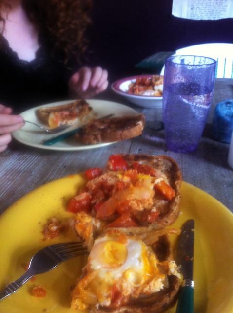 Postapocalyptic breakfast stylez