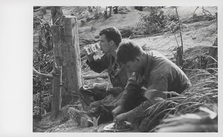 Marines Enjoy Easter Dinner, Hill 52, 1969