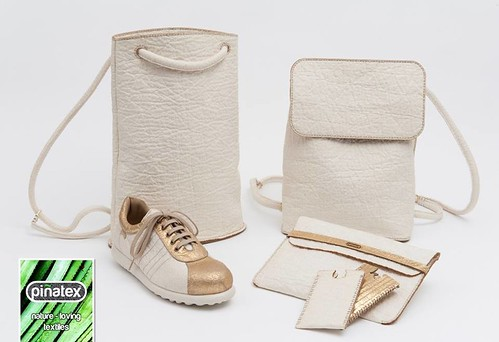 與真皮幾乎無異的「鳳梨皮製品」 圖片來源:Piñatex 臉書