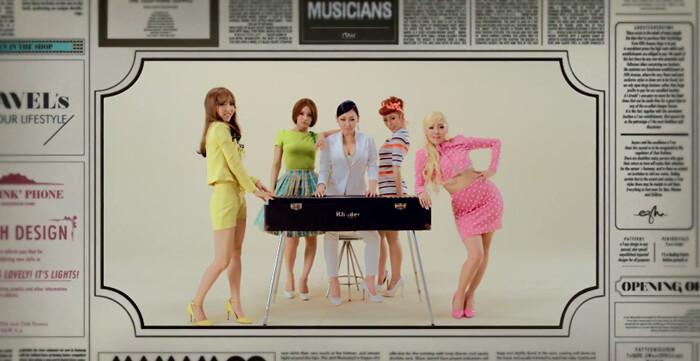 Confiram Apresentações ao vivo do Novo Single da banda Mamamoo, Aah Ooh!