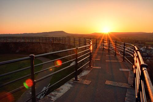 sunset nikon sigma lancashire clitheroe sigmalens clitheroecastle eastlancashire sigma1750 sigma1750f28 sigma1750mmf28 lancashirelandscape lancashiresunset nikond7100