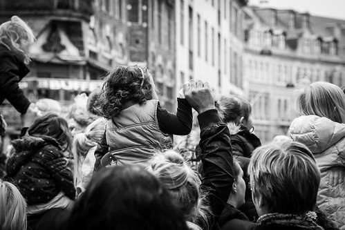 Children rise in the City