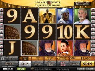 Gladiator Jackpot slot game online review