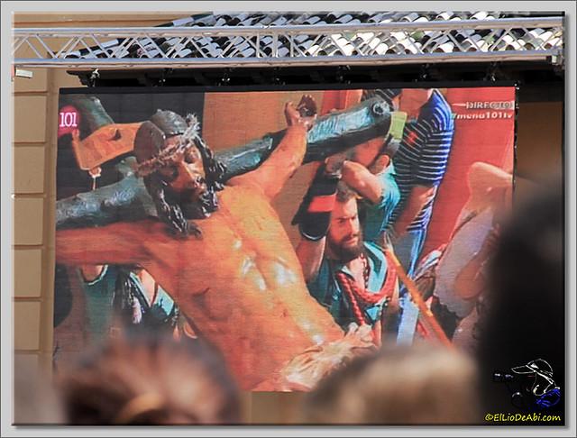 6 Semana Santa en Málaga. Cristo de Mena y Legionarios