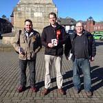 Canvassing with Malcolm Birks Skipton & Ripon clp