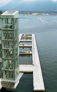 Seaplane dock, Coal Harbour, Vancouver