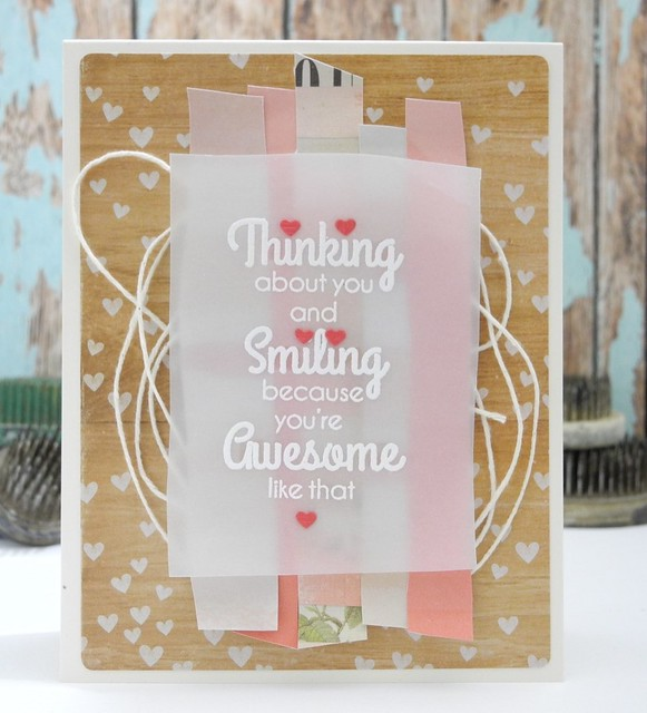 Because You're Awesome Like That by @Jennifer Ingle #casualfridaysstamps #cards #diy #bazzillbasics #papercrafts