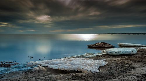 winter sea seascape canada ice beach landscape spring nikon melting newbrunswick moncton thaw 1635 d810 grandbarachois