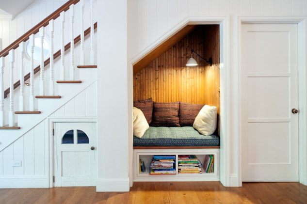 14 Smart Ideas How To Use Empty Space Under Stairs